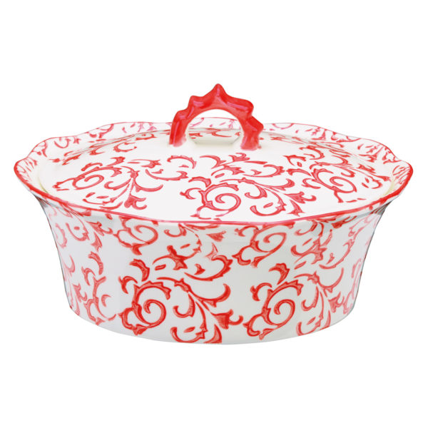 Heritage Casserole Red by BIA