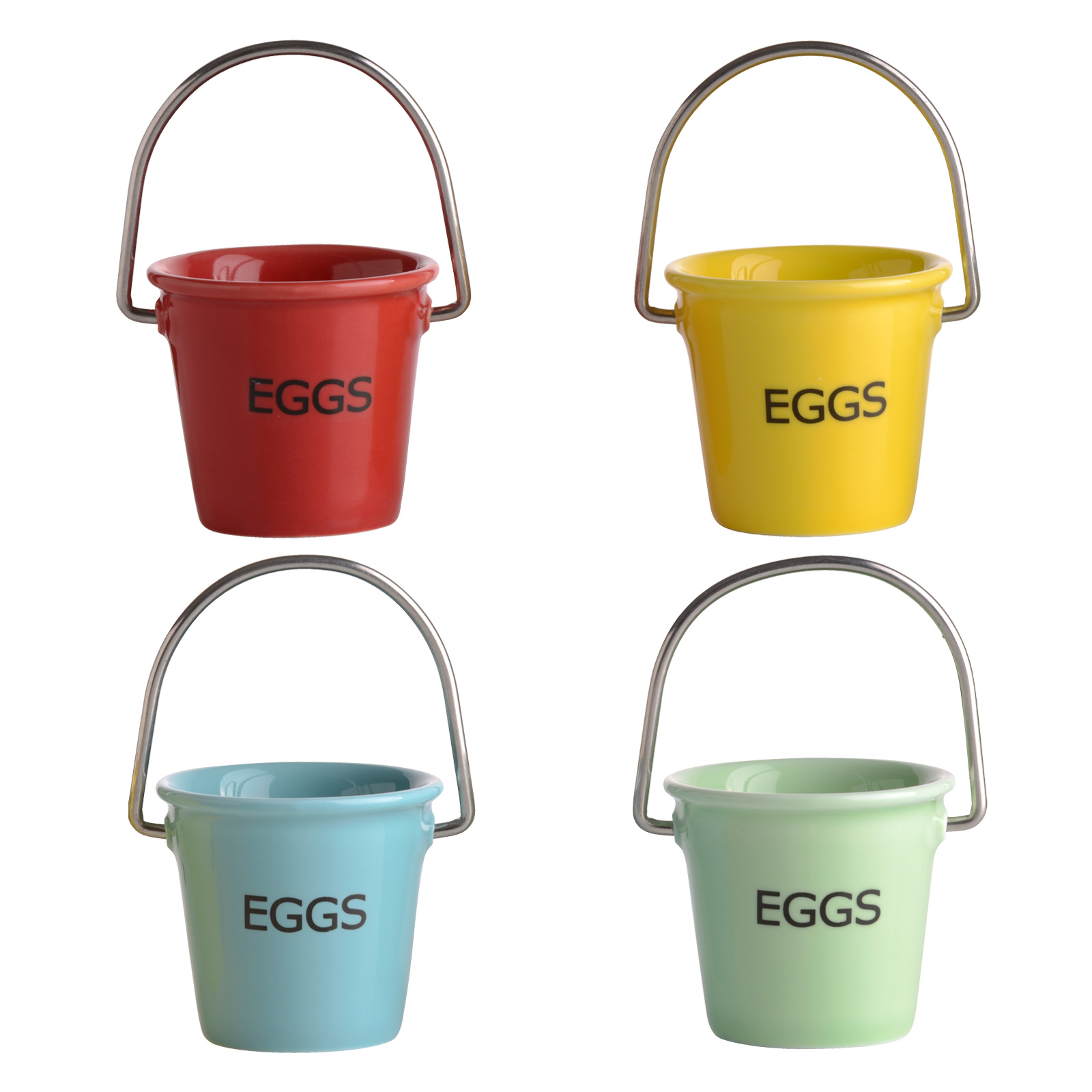 Set of 4 Egg Pails by BIA