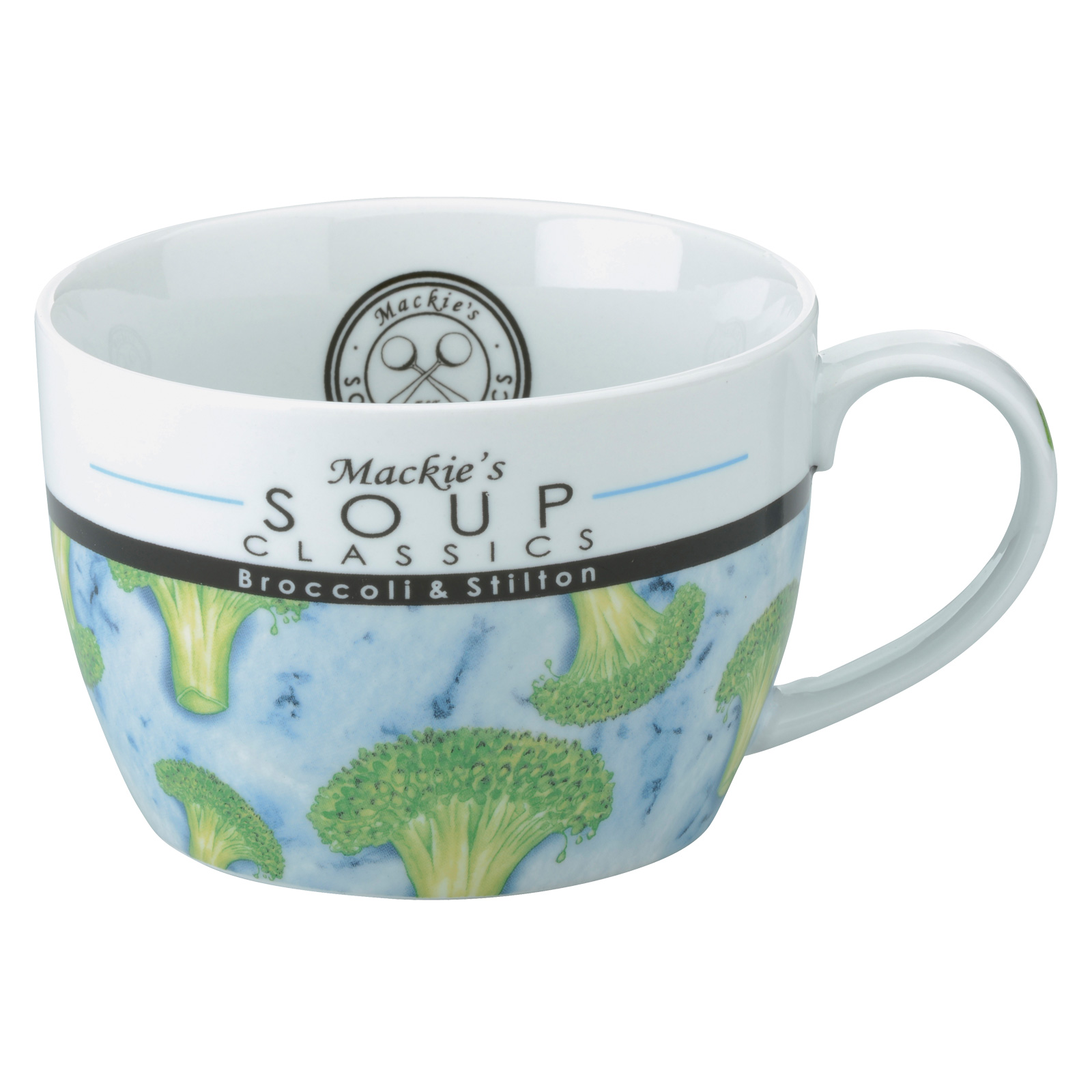 Mackie's Broccoli & Stilton Soup Mug by BIA