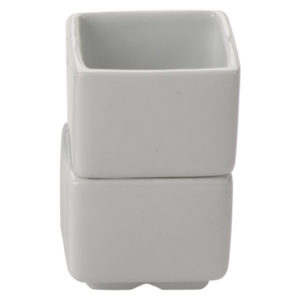 Set of 12 Square Pots Small by BIA