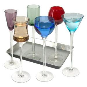 7 Piece Long Stem Liqueur Set by Artland