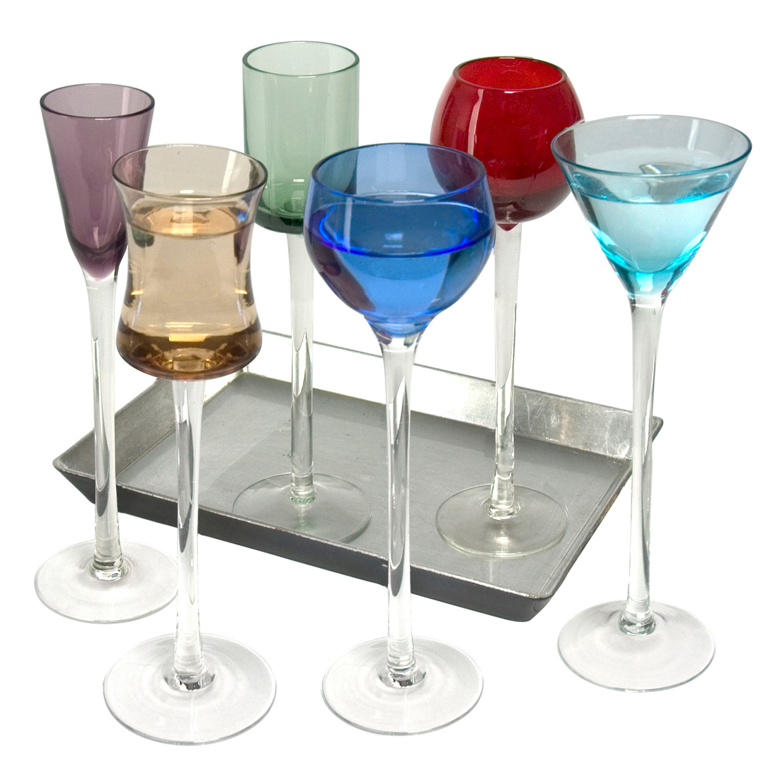 7 Piece Long Stem Liqueur Set by Artland