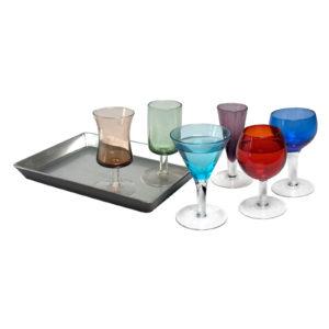 7 Piece Short Stem Liqueur Set by Artland