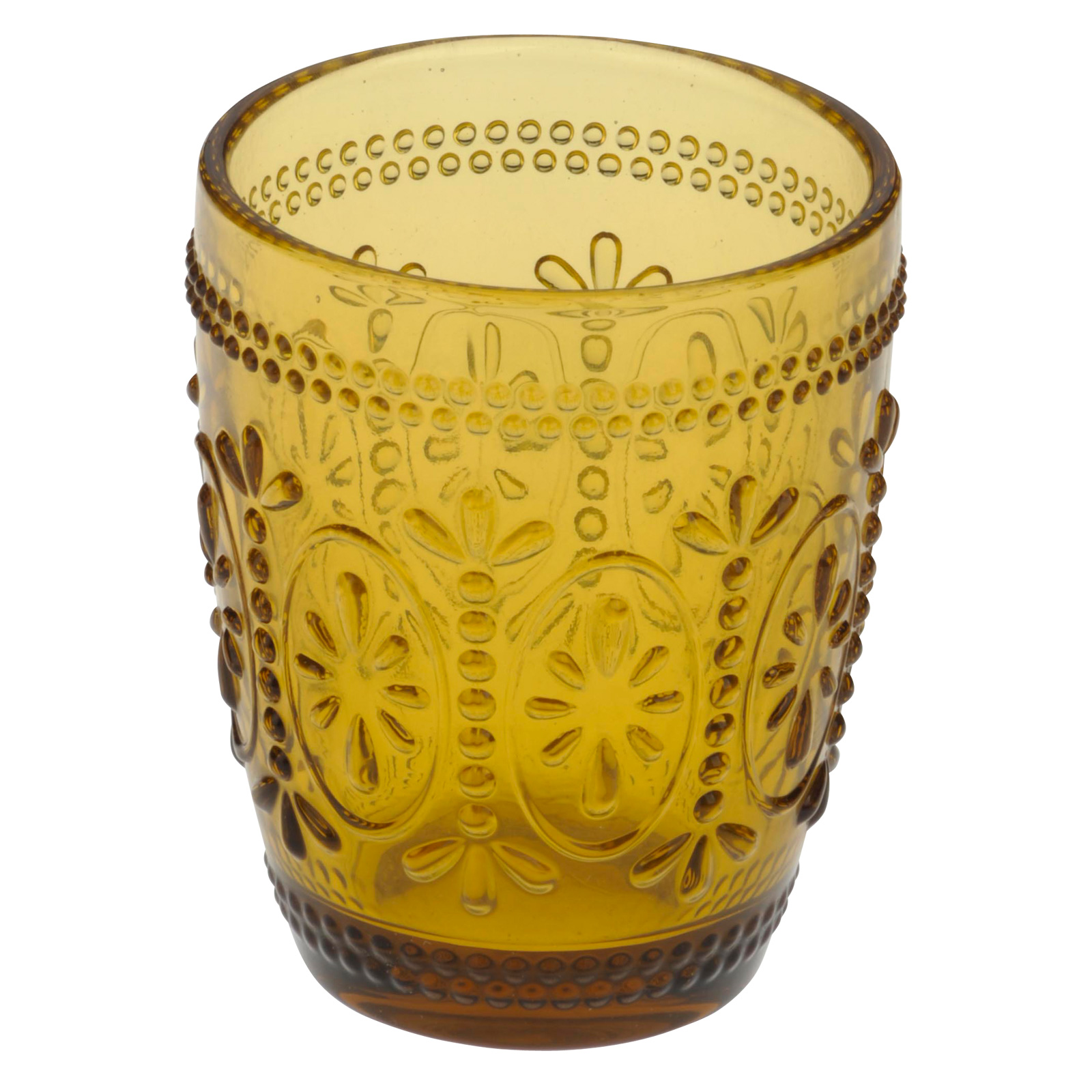 Set of 6 Savoie DOF Tumblers Amber by Anton Studio Designs