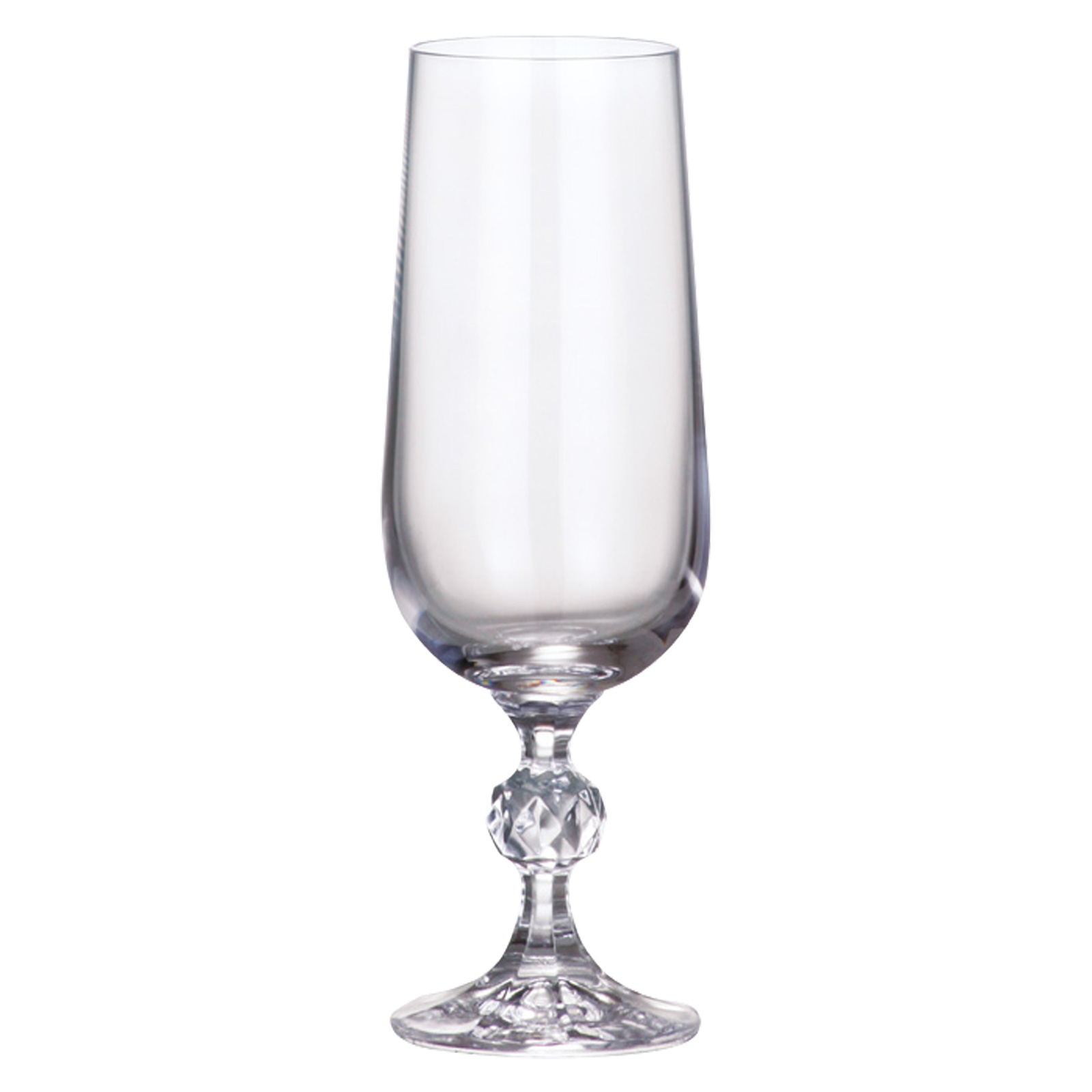 Set of 6 Claudia Flutes by Bohemia