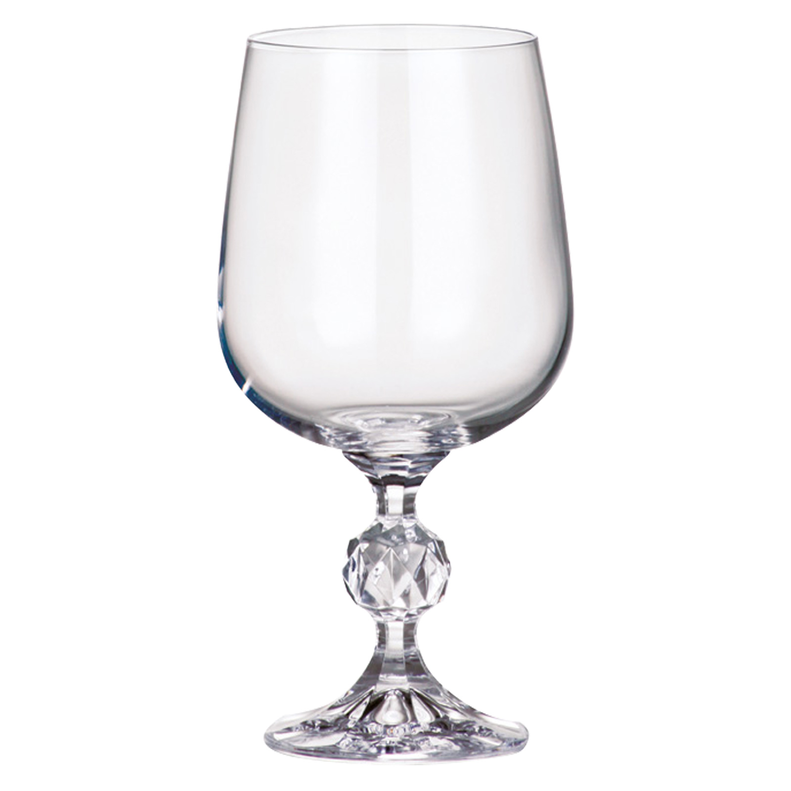 Set of 6 Claudia Goblets by Bohemia