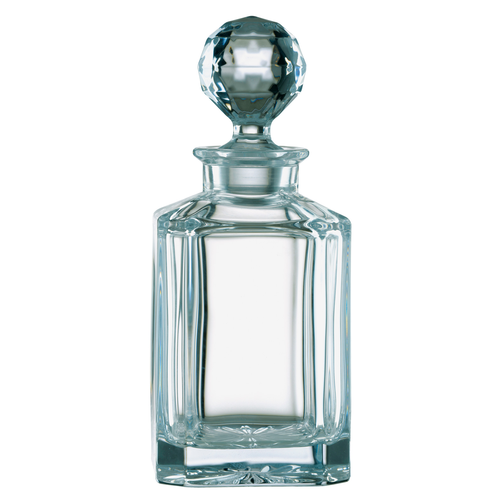 Plain Square Decanter (Non Lead) by Bohemia