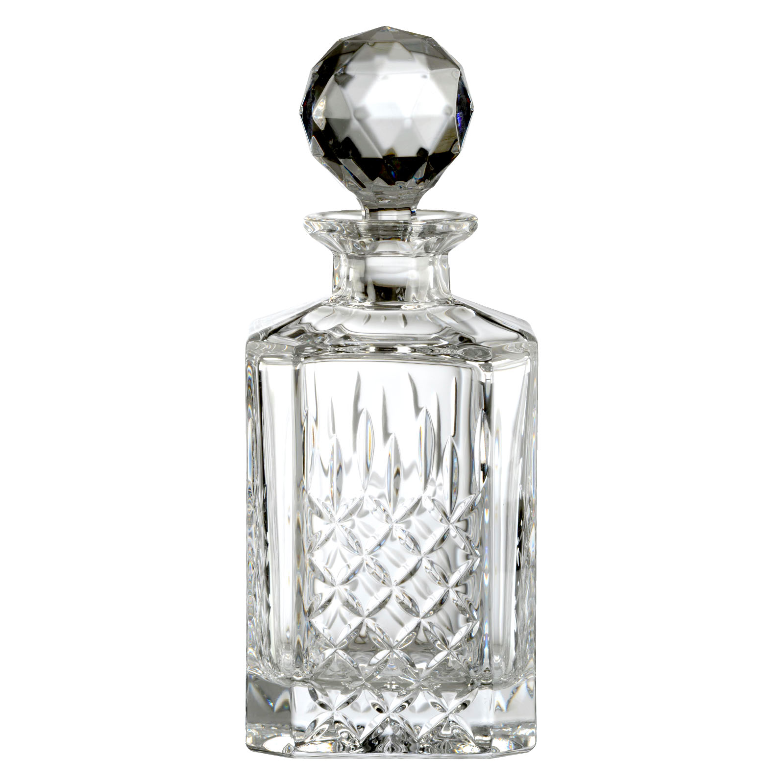 Dorchester Square Decanter Fully Cut (24%) by Dornberger