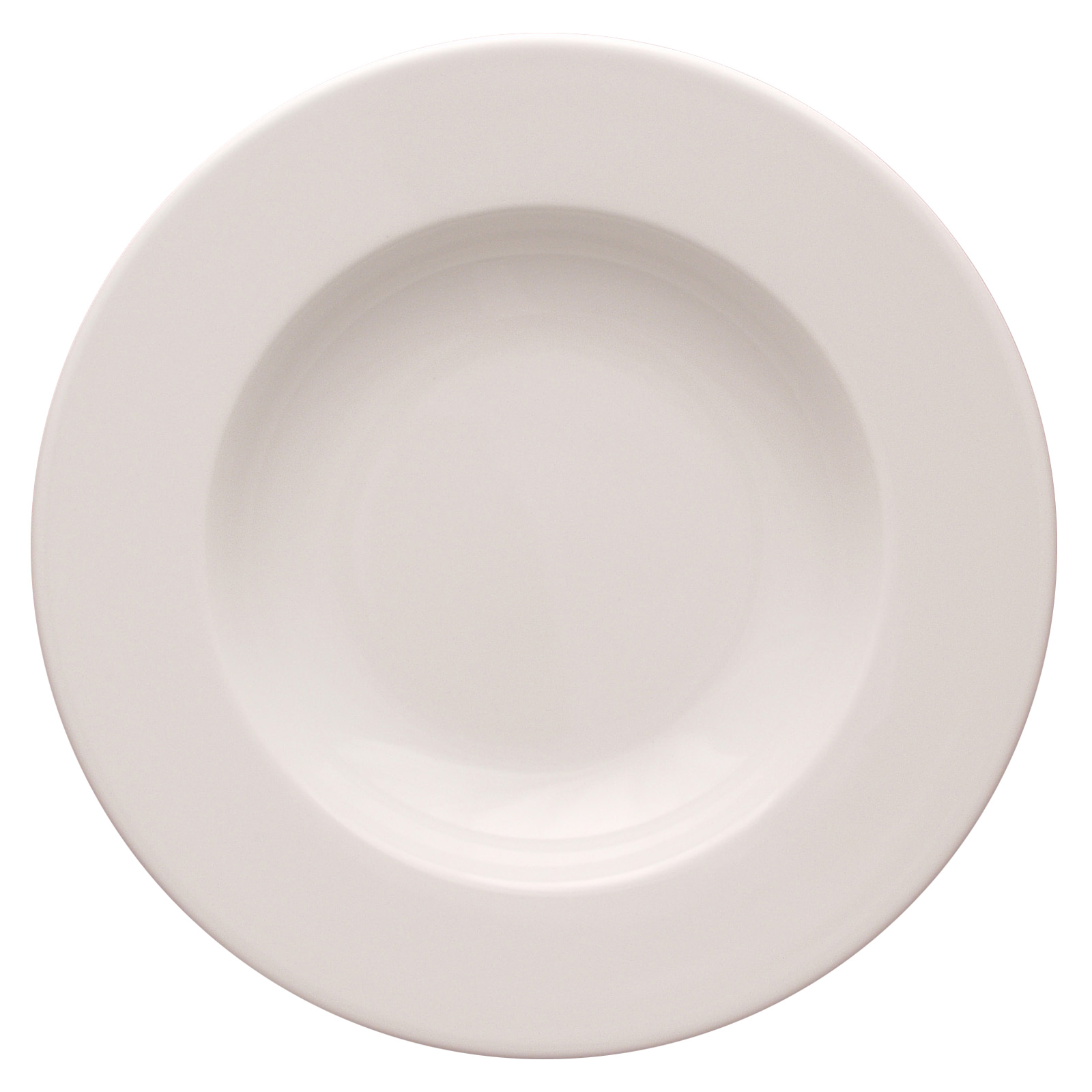 Set of 24 Roma Rimmed Soup Plates by Lubiana