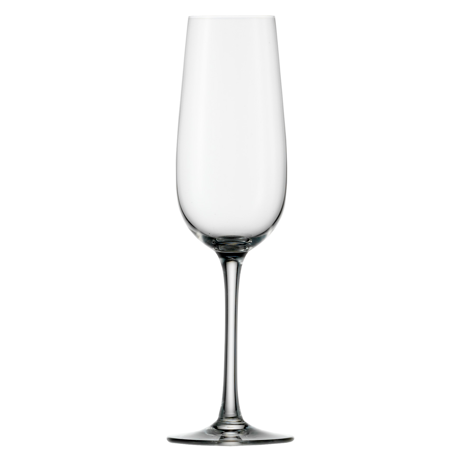 Set of 6 Weinland Champagne Flutes by Stolzle
