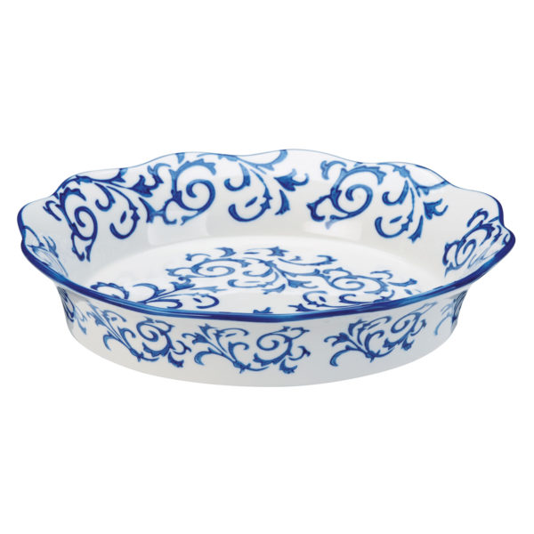 Heritage Pie Dish Blue by BIA