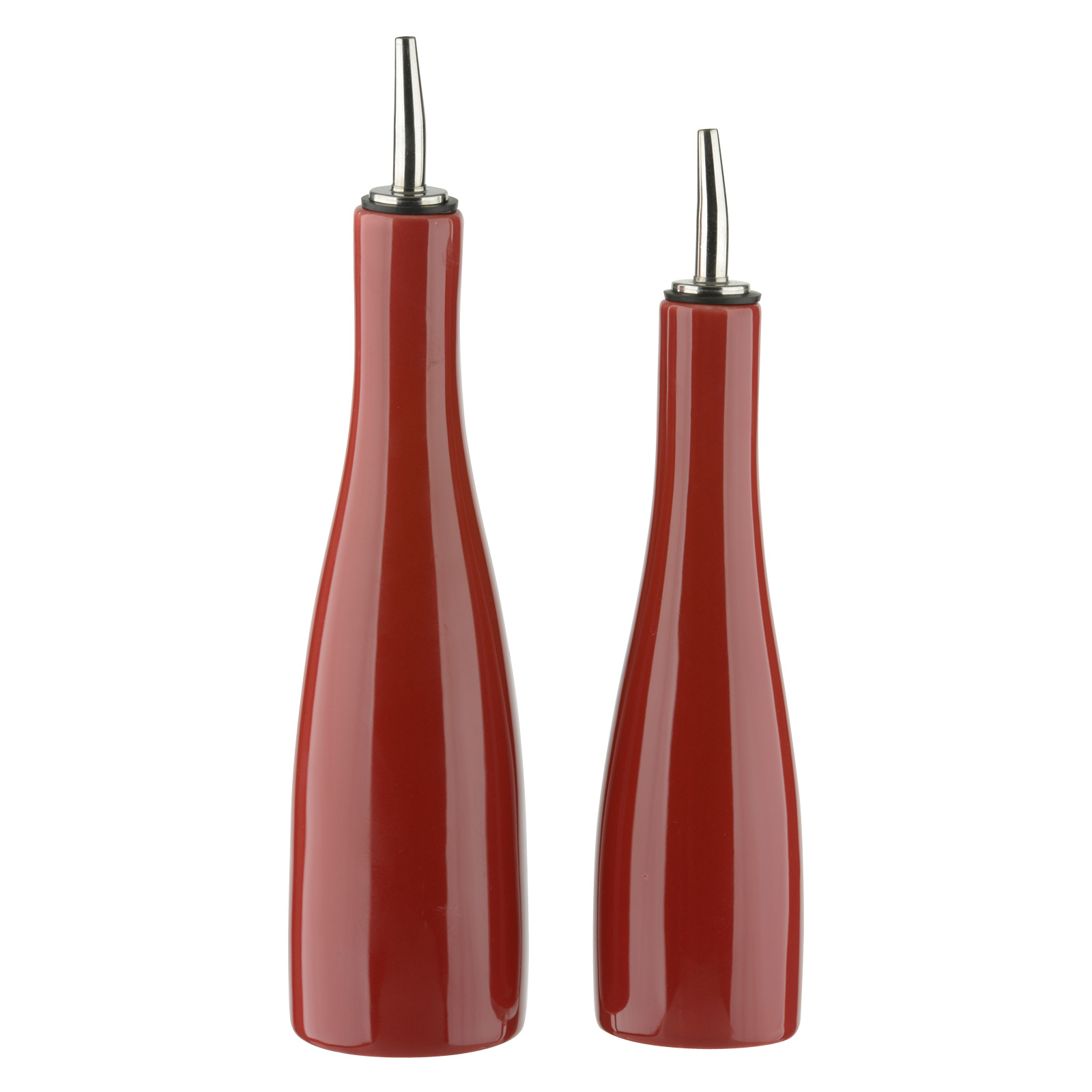 SCOOP! Oil & Vinegar Set Red by BIA