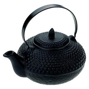 Oriental Hobnail Teapot Kurotobi Black by BIA