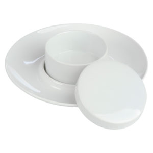 Camembert Baker Platter White by BIA
