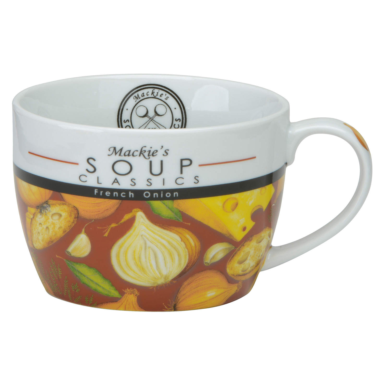 Mackie's French Onion Soup Mug by BIA