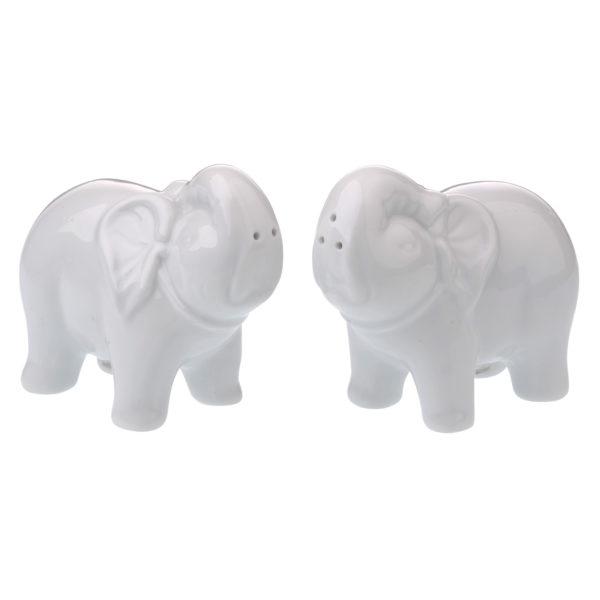Elephant Salt & Pepper Shakers by BIA