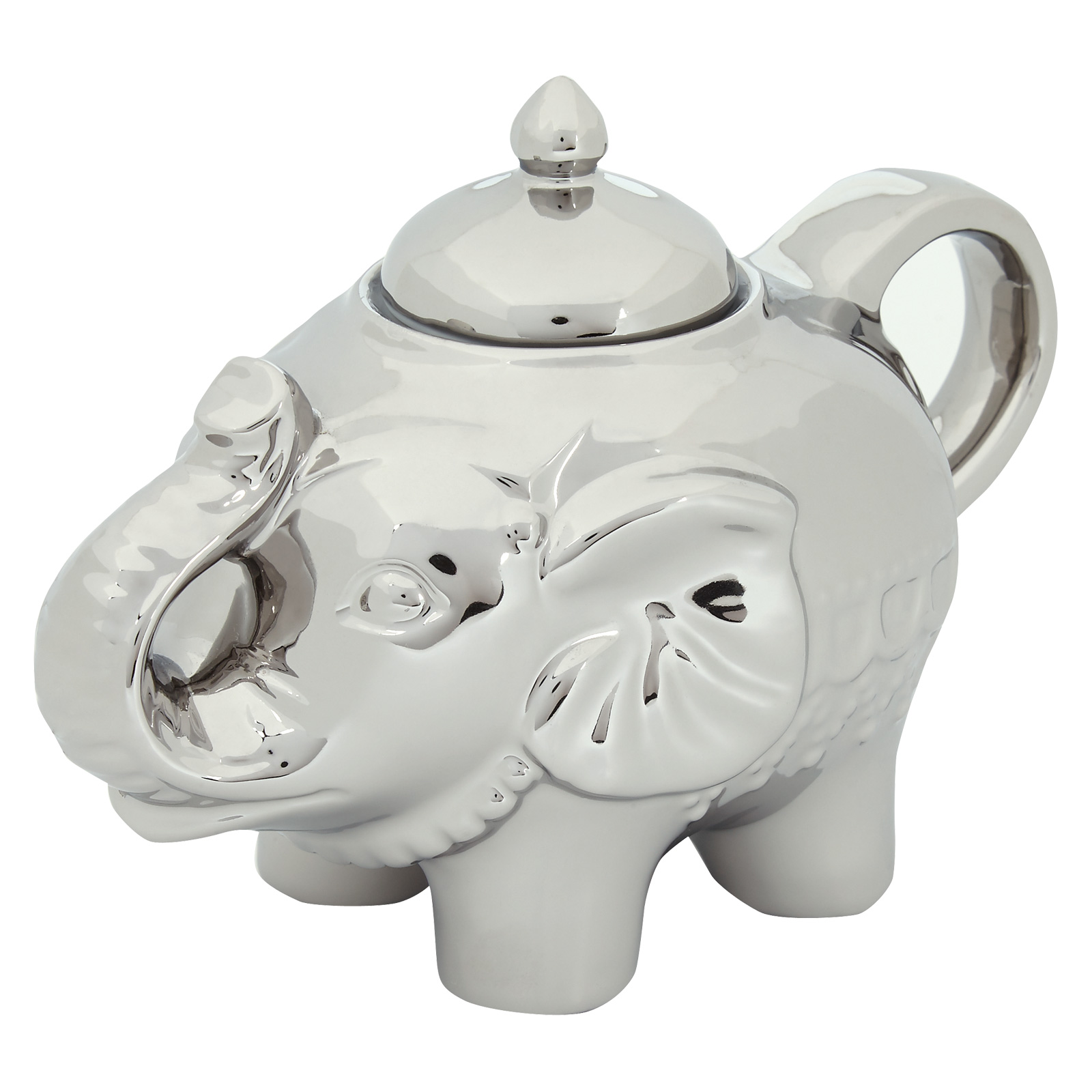 Elephant Sugar Pot Platinum by BIA