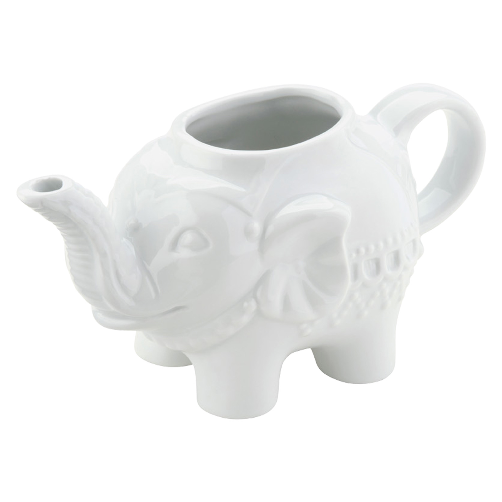 Elephant Creamer White by BIA