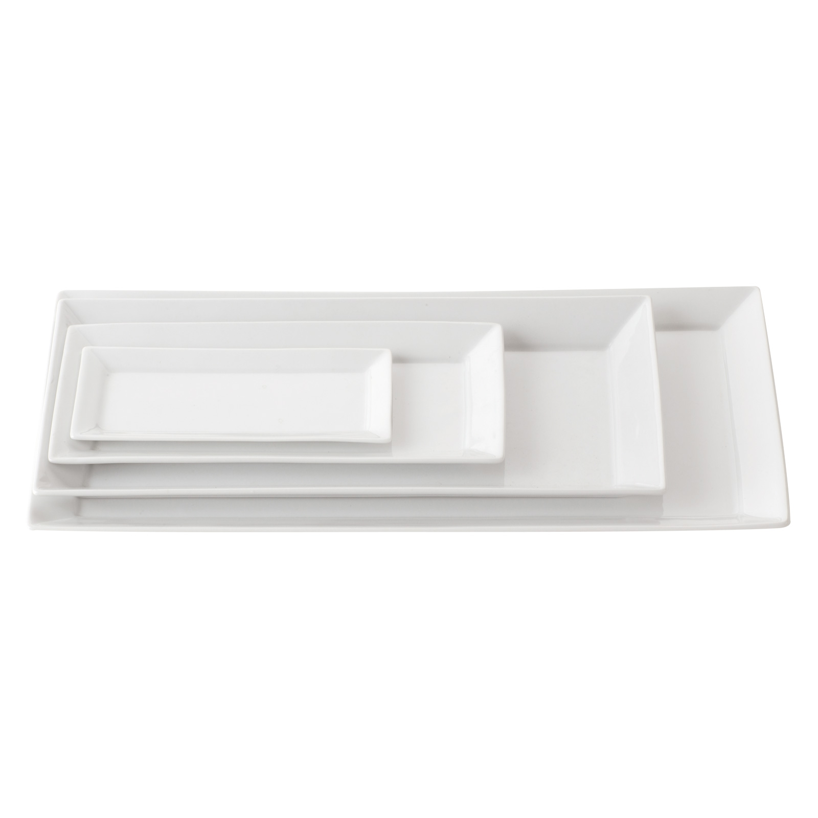 Set of 2 Zensation Rectangular Trays Large by BIA