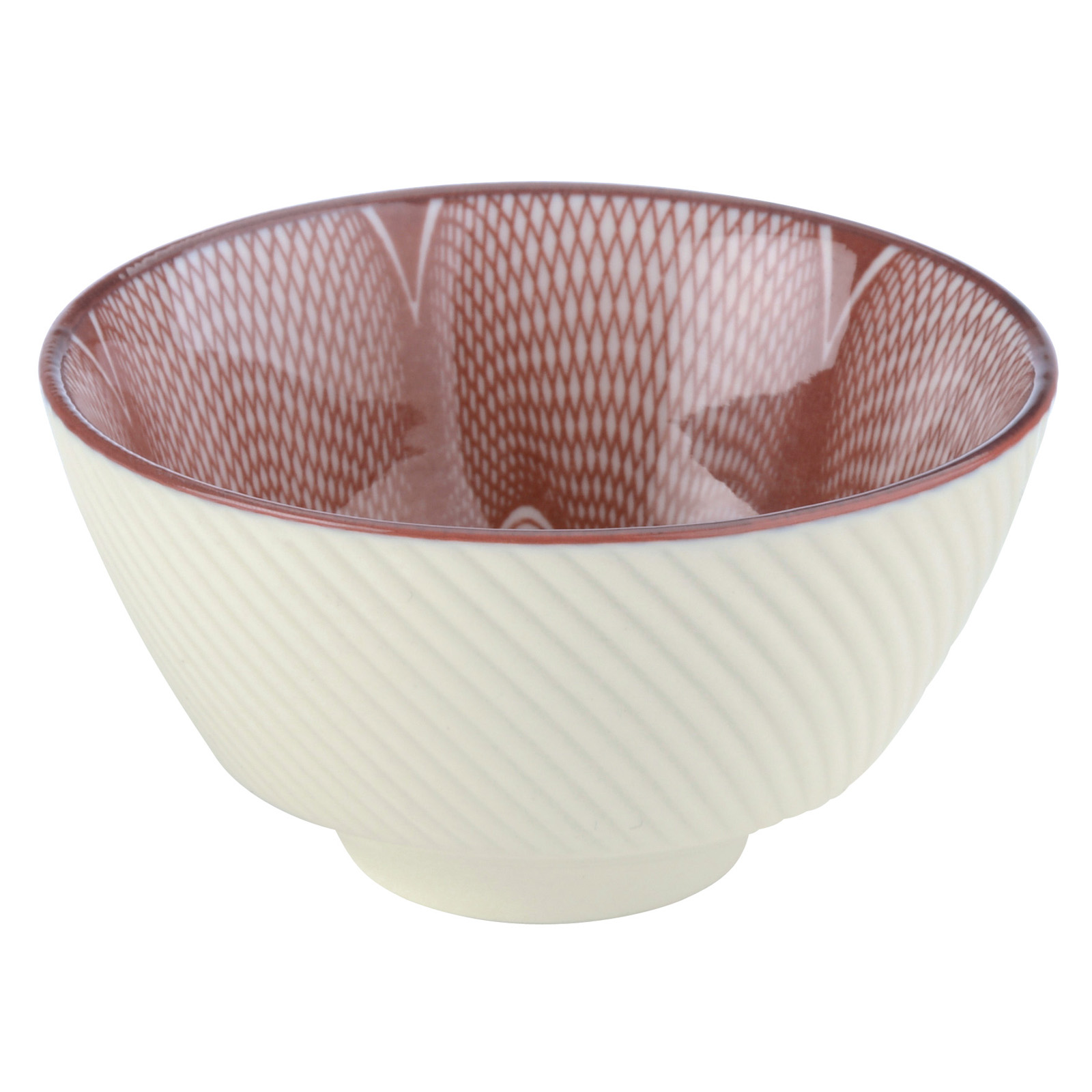 Set of 12 Spyro Tea Bowls Plum by BIA