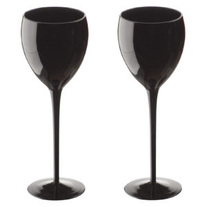 Midnight Goblets Black - Set of 2