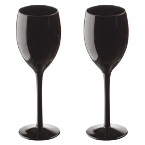Midnight Wines Black - Set of 2