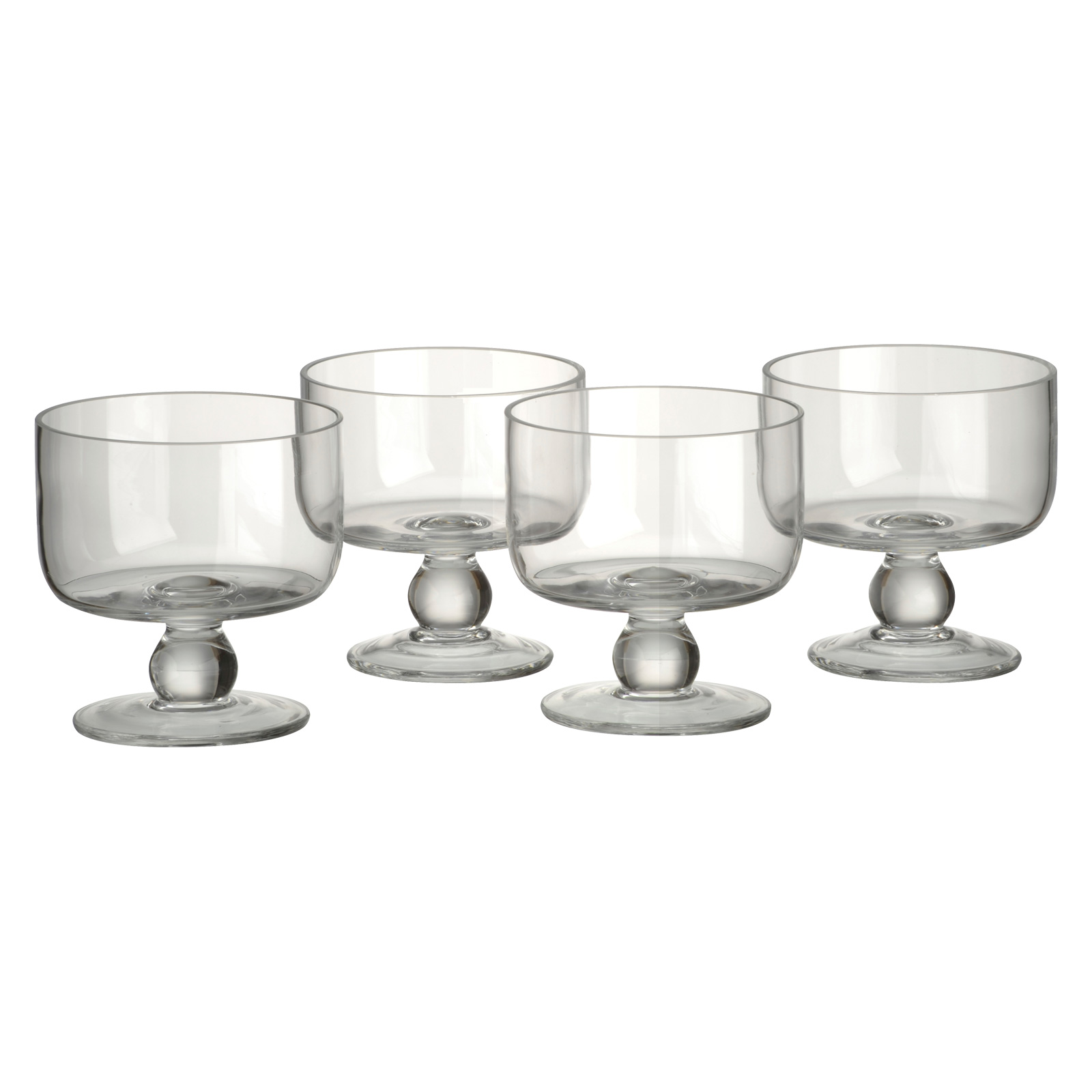 Set of 4 Simplicity Individual Trifle Bowls by Artland
