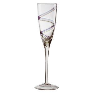 Set of 2 Arc Champagne Flutes by Anton Studio Designs