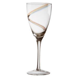 Set of 2 Arc Wine Glasses by Anton Studio Designs