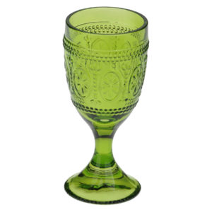 Set of 6 Savoie Goblets Green by Anton Studio Designs
