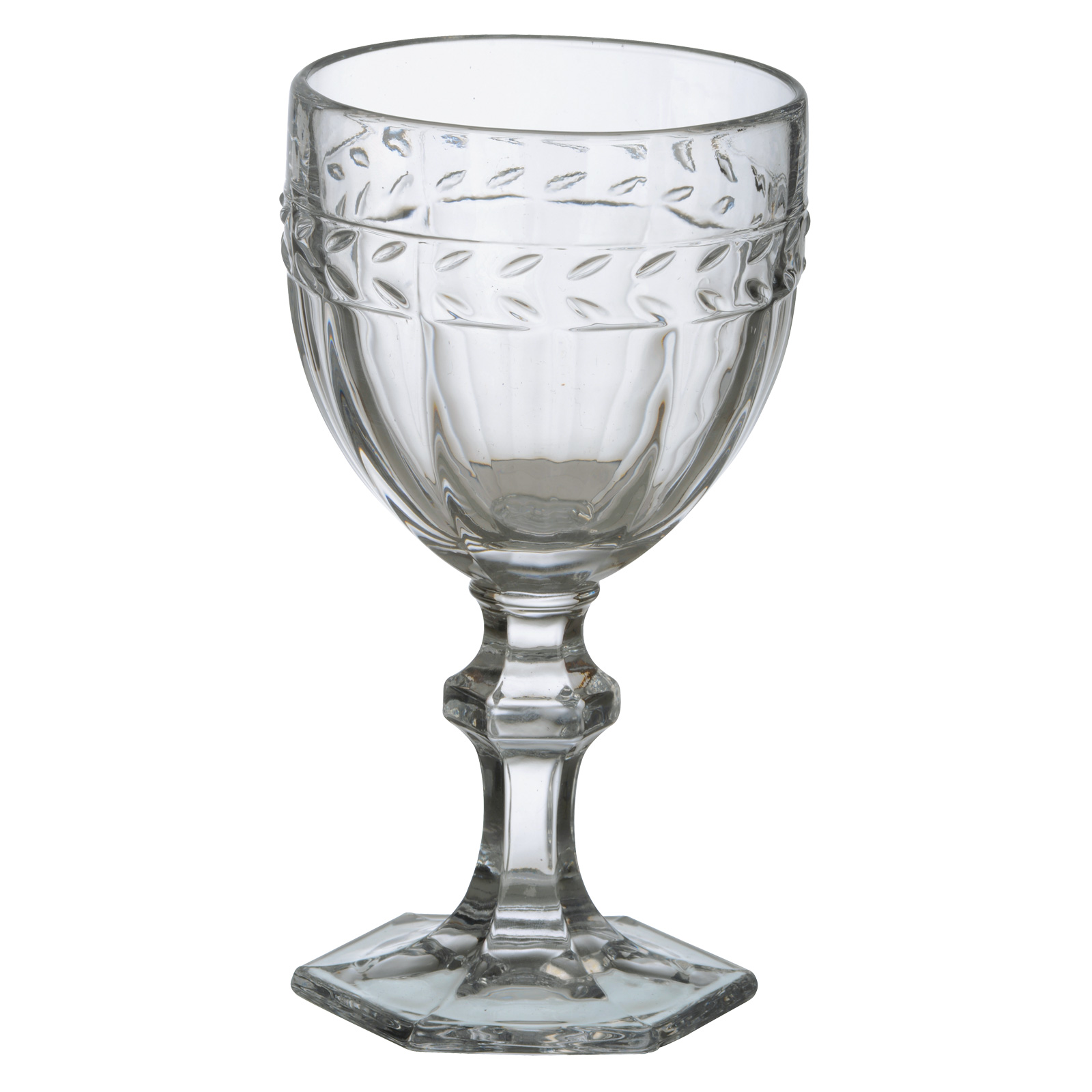 Set of 6 Camargue Goblets Clear by Anton Studio Designs