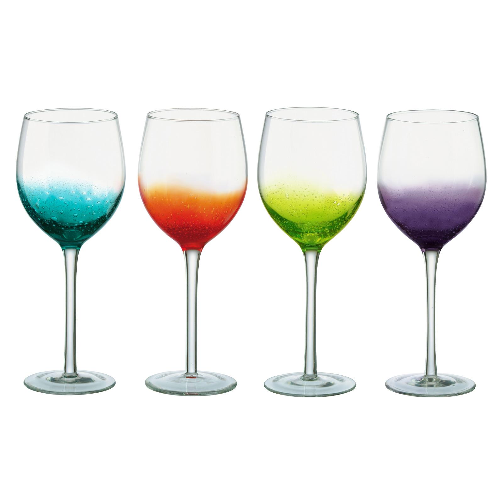 Fizz Wine Glasses - Set of 4