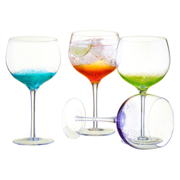 Fizz Gin Glasses - Set of 4