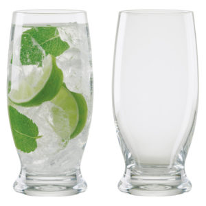 Set of 2 Manhattan Long Drink Glasses by Anton Studio Designs