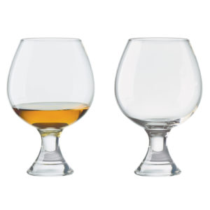 Set of 2 Manhattan Brandy Glasses by Anton Studio Designs