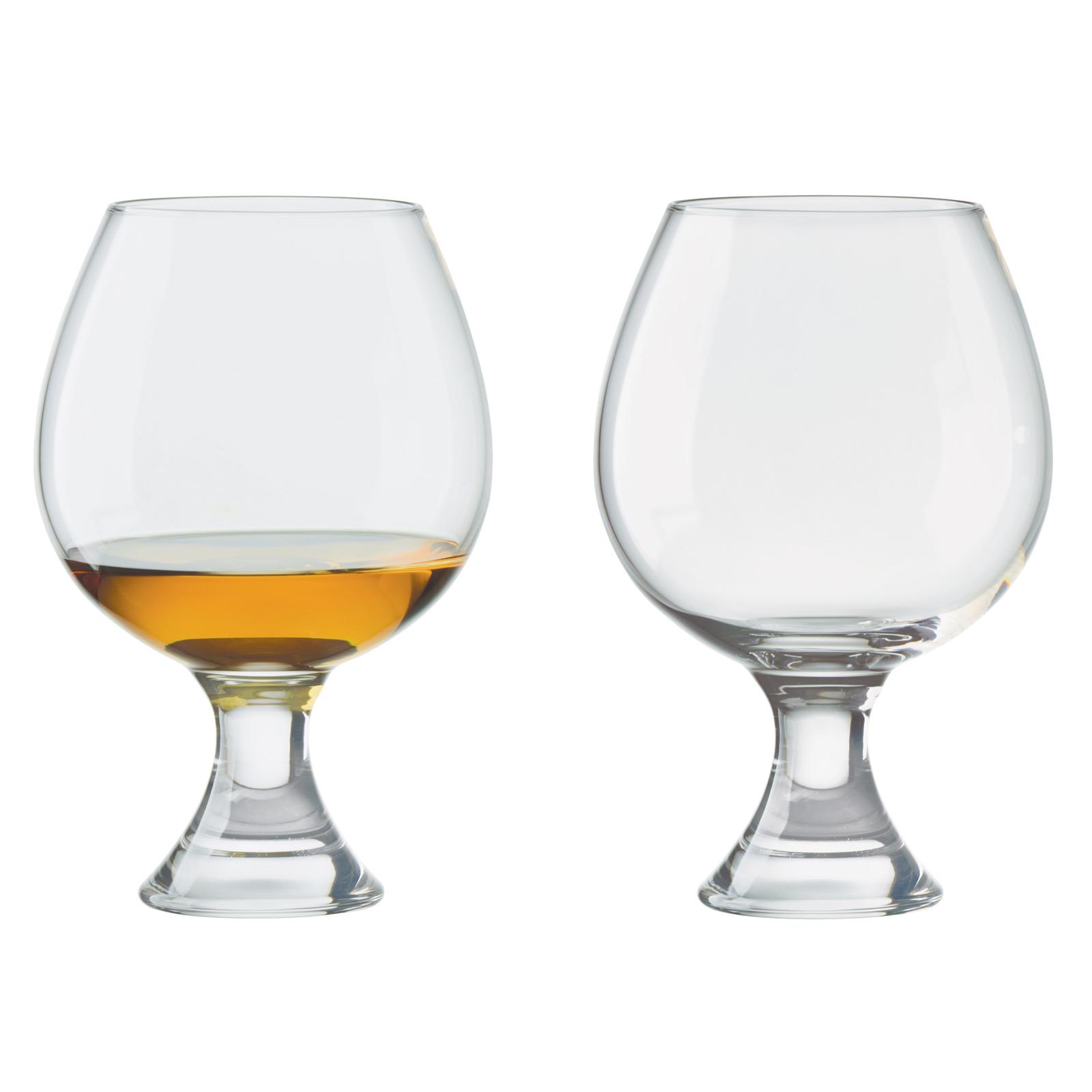 Set of 2 Manhattan Brandy Glasses by Anton Studio Designs