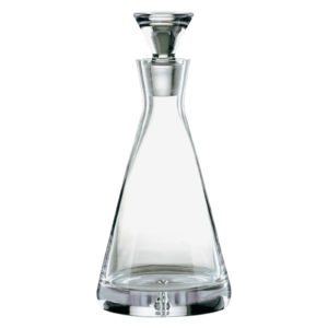 Bubble Base Pyramid Decanter by Dornberger