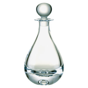 Bubble Base Teardrop Decanter by Dornberger