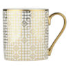 Set of 4 Art Deco Mugs Gold by BIA