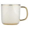 Set of 4 Swirl Mugs Gold by BIA