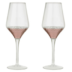 Set of 2 Coppertino Wines by Artland
