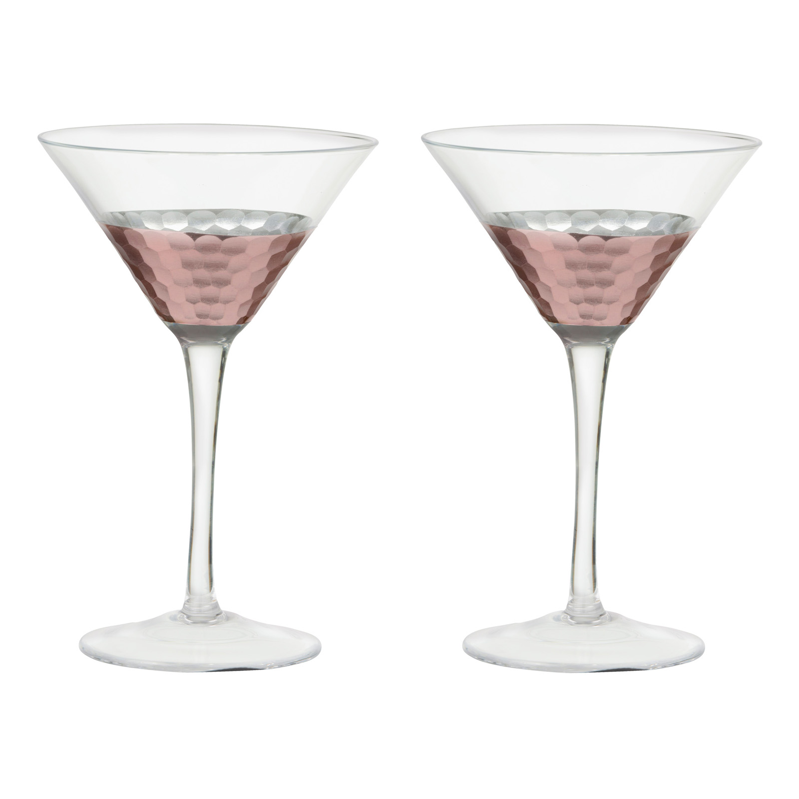 Set of 2 Coppertino Martinis by Artland