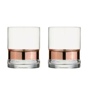 Set of 2 SoHo DOF Tumblers Silver by Anton Studio Designs
