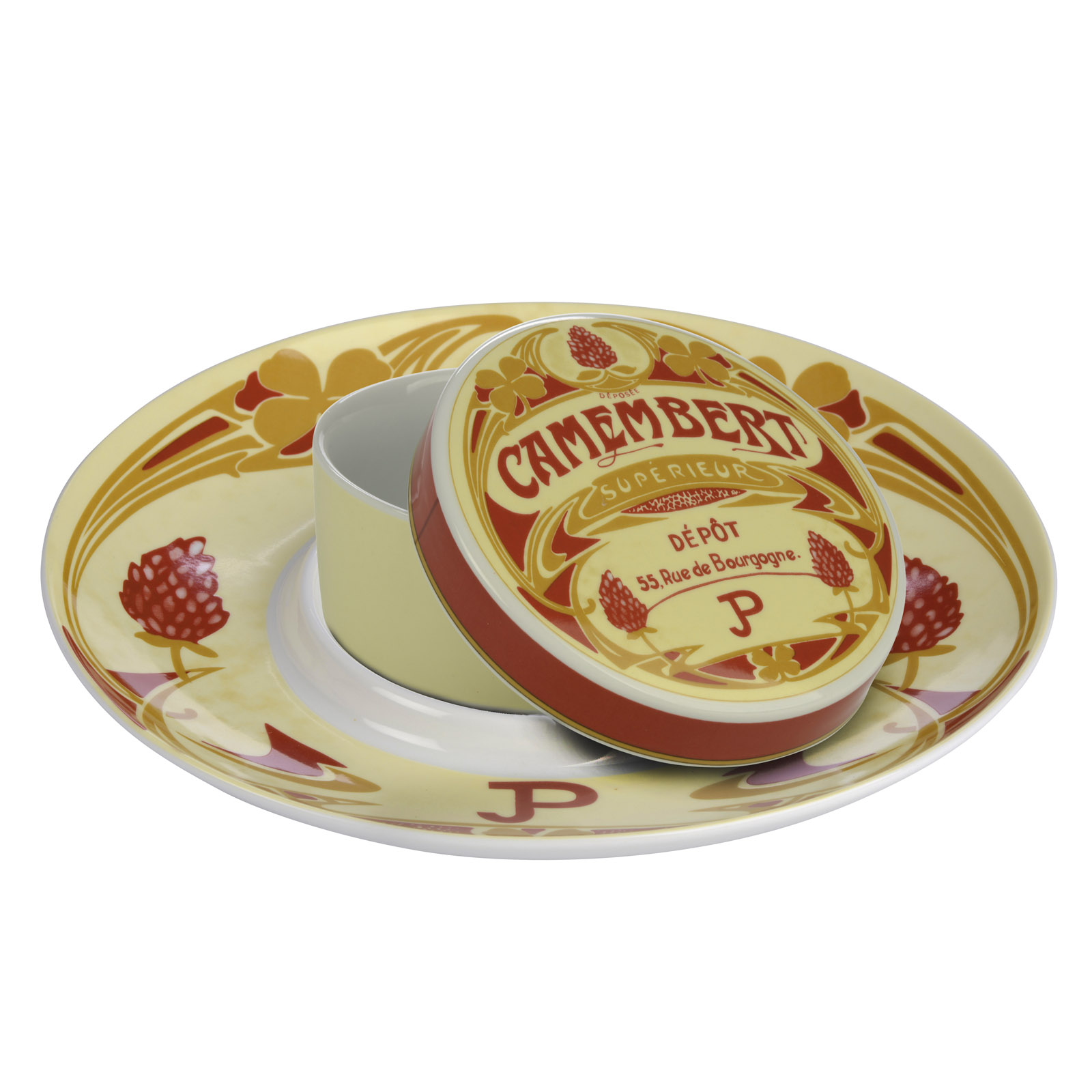 Vintage Camembert Baker and Platter