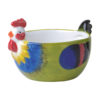 Dawn Chorus Green Cereal Bowls, set of 2