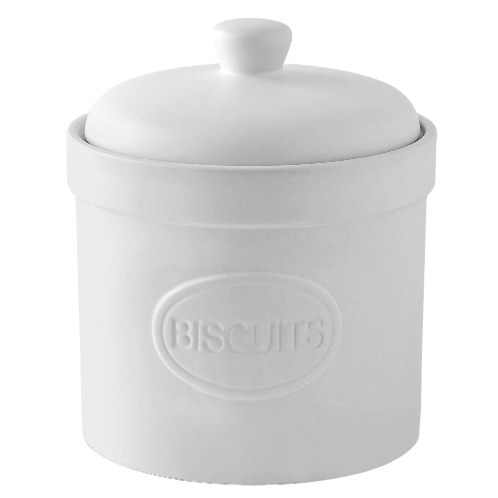 Biscuit Barrell Matte White by BIA